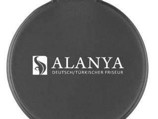 Glamourspiegel regioaktiv Aus PS-Kunststoff Klappdeckel dient auch als Spiegelständer