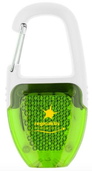 Aus ABS-Kunststoff Chromclip LED-Leuchte mit Ein-/Aus-Knopf Batterien inbegriffen