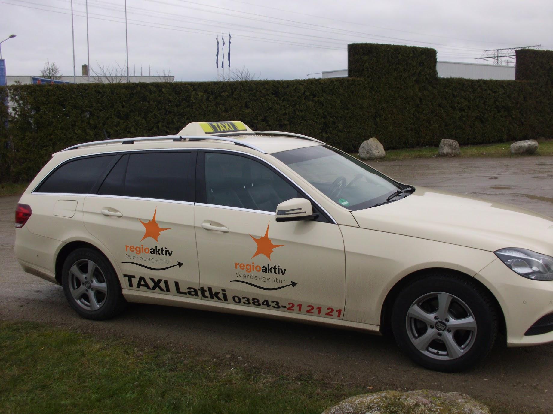 Taxi Werbung Werbeagentur