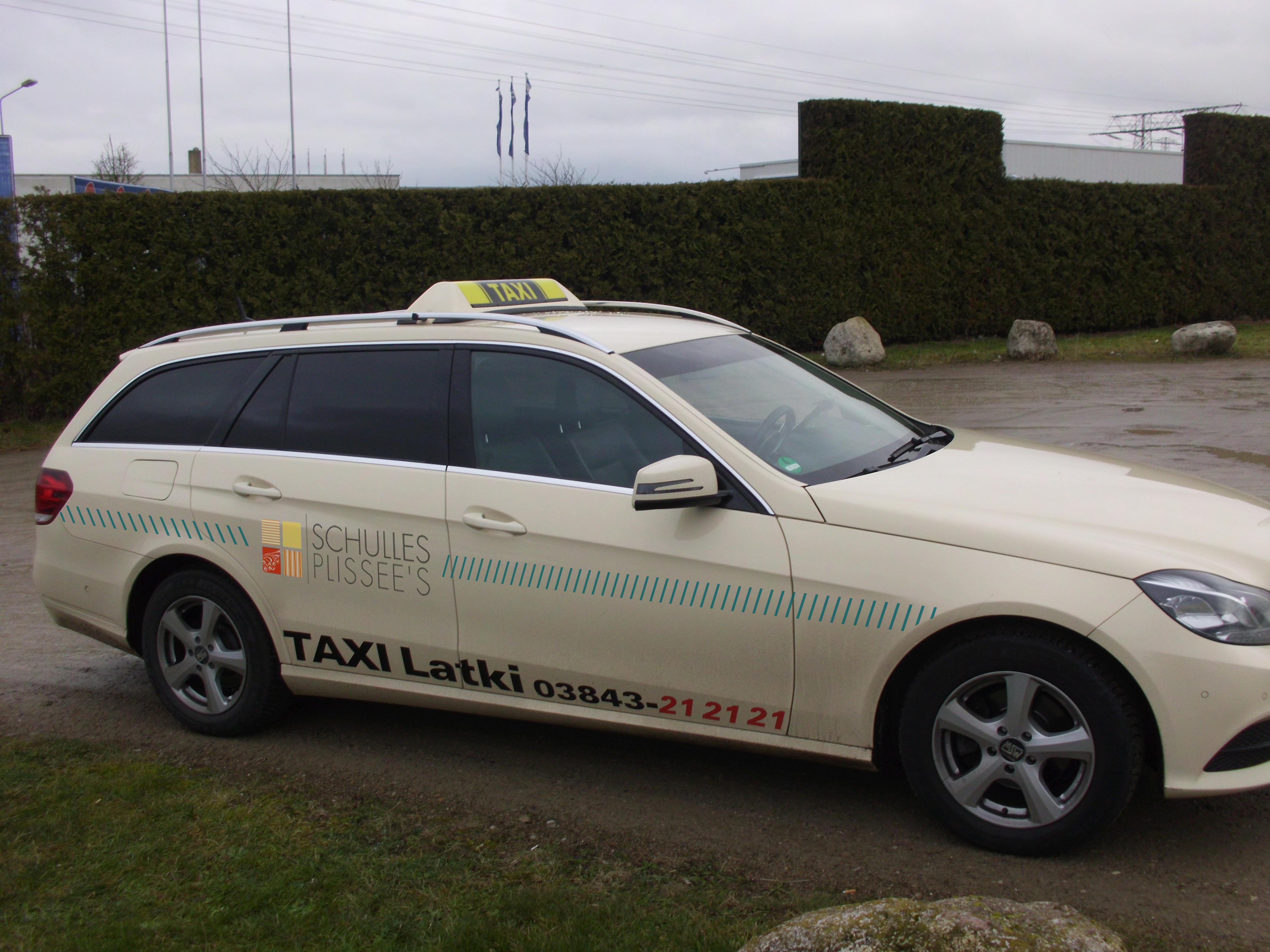 Taxi Werbung
