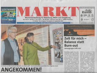 Die Zeitung Markt.