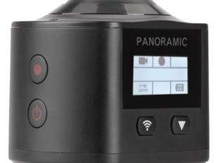 Wi-Fi-Actionkamera 360°