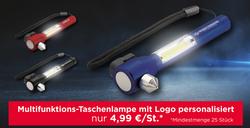 Multifunktionale Taschenlampe