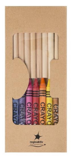 19-teiliges Stifte- und Malkreidense