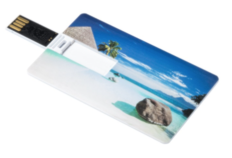 Ultraflache USB-Karte mit 4 GB