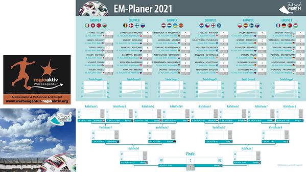 EM-Planer 2021 Werbeagentur regioaktiv.p