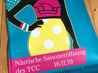 Poster für den TCC