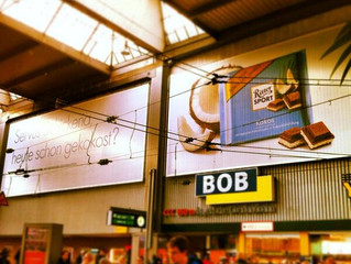 Werbung im Supermarkt