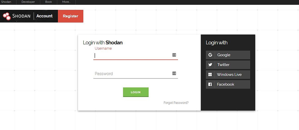 Shodan is a scanner which reveals devices related over the internet