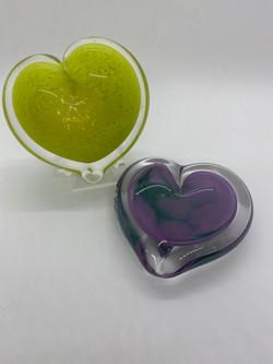 Granny Apple Green, Purple/Turquoise Swirl
