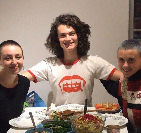 Left to right: Amy Metson, Daniel Birtles, KA Harris