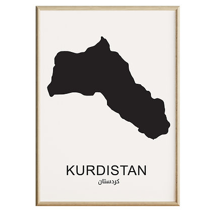 Kurdistan Plakat