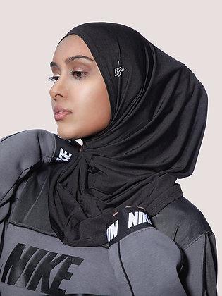 Sort Sport Hijab