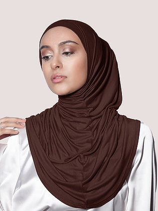 Dark Chocolate Kort Jersey Khimar