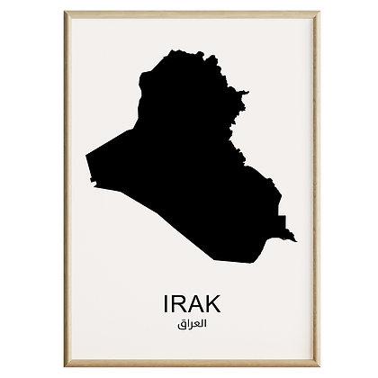 Irak Plakat