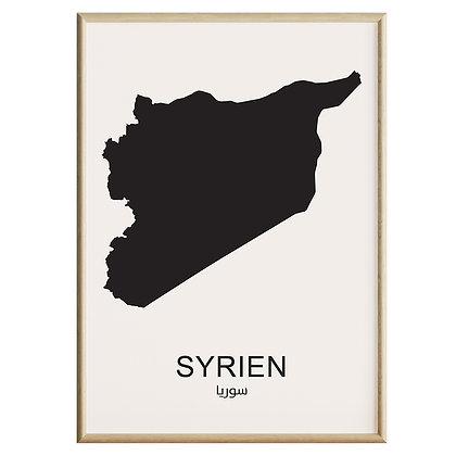 Syrien Plakat