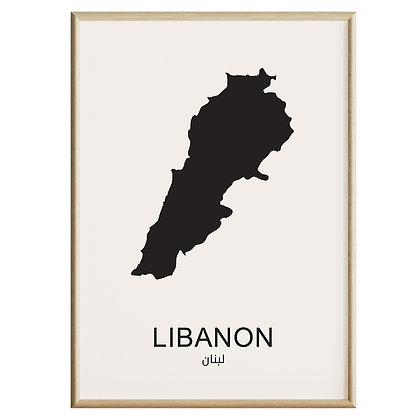 Libanon Plakat
