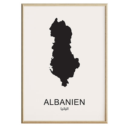 Albanien Plakat