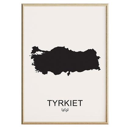 Tyrkiet Plakat