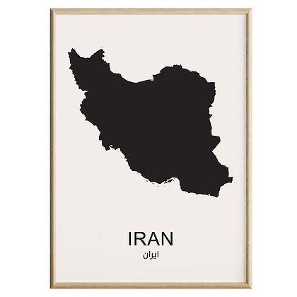 Iran Plakat
