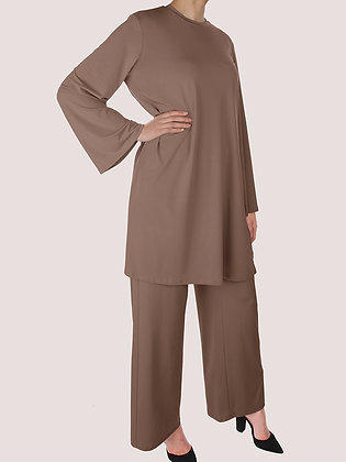 Dusty Camel Comfy Outfit