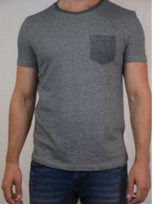 T-shirt structuré avec poche