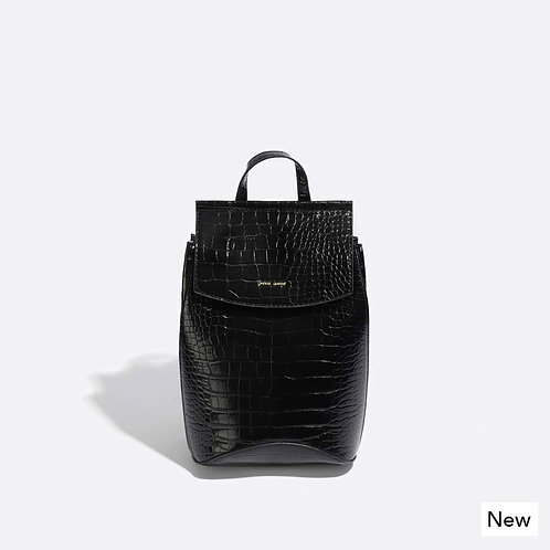 Mini-Kim backpack Black croc
