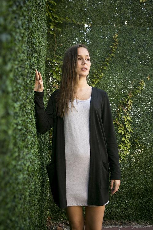 Long cardigan - Bambou épais