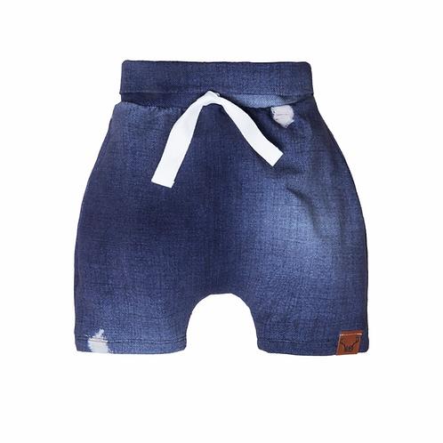 Shorts évolutifs faux jeans