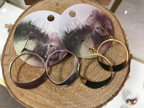 Boucles pendentifs cercle