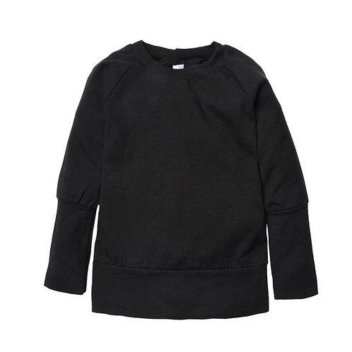 Sweater noir évolutif