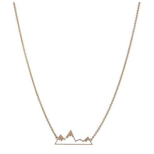 Collier montagne or