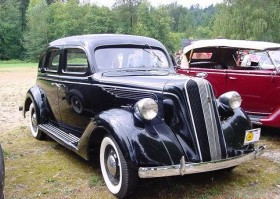 What Auto Is This? This Econo Car Had Art Deco Style..