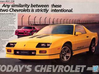 What's It Worth? ..1987 Chevrolet Camaro IROC Z28 ..Are The 80's Big Hair Camaro's Final