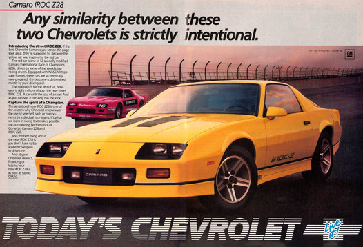 What's It Worth?   1987 Chevrolet Camaro IROC Z28   Are The
