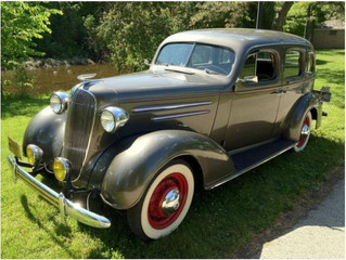 What's It Worth? 1936 Chevrolet Master Deluxe 4 Door Sedan ..Style And Economy All In One