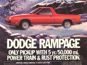 What's It Worth?? 1983 Dodge Rampage Pickup ..The Mopar Men Chop Up An Omni