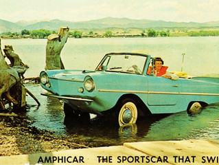 What's It Worth? 1964 Amphicar 770 ..A Not So Great Car And Even Worse Boat, But Still Highly Co