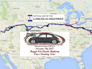 """Dates Set For The 2017 Vintage Auto Appraisal """"Buggin Out"""" Lincoln Highway Cross Country Tour"""