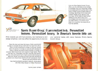 What's It Worth?? 1972 Ford Pinto Runabout ...Even Ford's Explode-A-Matic Becomes Collectible