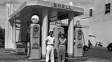 On The Road with Johnny B ..Praising Old Fashioned Gas Stations, Sunday Dinners and Faith