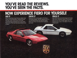 What's It Worth?? 1984 Pontiac Fiero SE ..GM's Other Plastic Fantastic Sports Car Is Finally