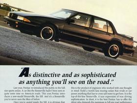 """What's It Worth? 1988 Pontiac Bonneville SSE """"Project Car"""" .. Pontiac Builds A Euro Sedan"""