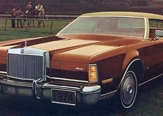 What's It Worth? 1974 Lincoln Continental Mark IV ..Leather Lined Land Barge And The Fave Of A C