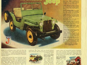 What's It Worth? 1951 Willys CJ2A ...The Value Of Rust