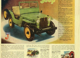 What's It Worth? 1951 Willys CJ2A ...The Value Of Rust and Patina
