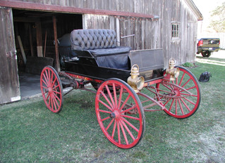 1908 Sears Model G Motor Runabout ...Mail Order Horseless Carriage