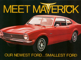 On The Road With Johnny B ..A Young Man Finds Freedom In A Ford Maverick