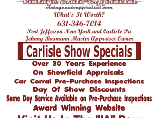 Gearing Up For The 2016 Carlisle Show Season and Loving It