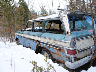 The World According To Ben Part 22 ...Sympathy For An Abandoned Grand Wagoneer